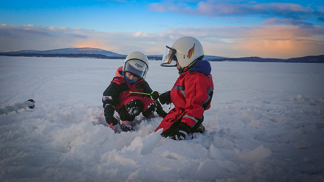 Icefishing Excursion Along Ivalo River by Walk