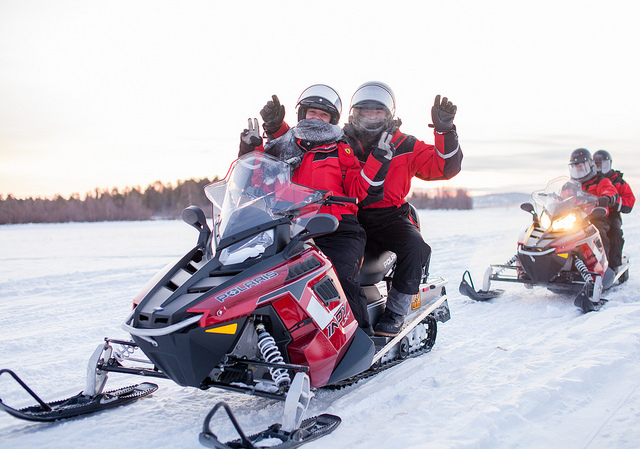 Snowmobile Safari 1 hour